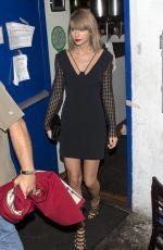 TAYLOR SWIFT Leaves The Little Door Restaurant in Los Angeles 11/02/2015