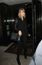 TAYLOR SWIFT Leaves The Palms Restaurant in Beverly Hills 11/17/2015