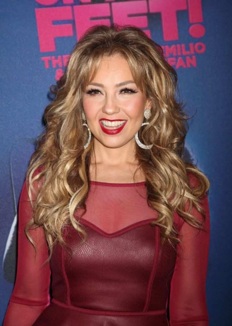 THALIA at On Your Feet Opening Night 11/06/2015