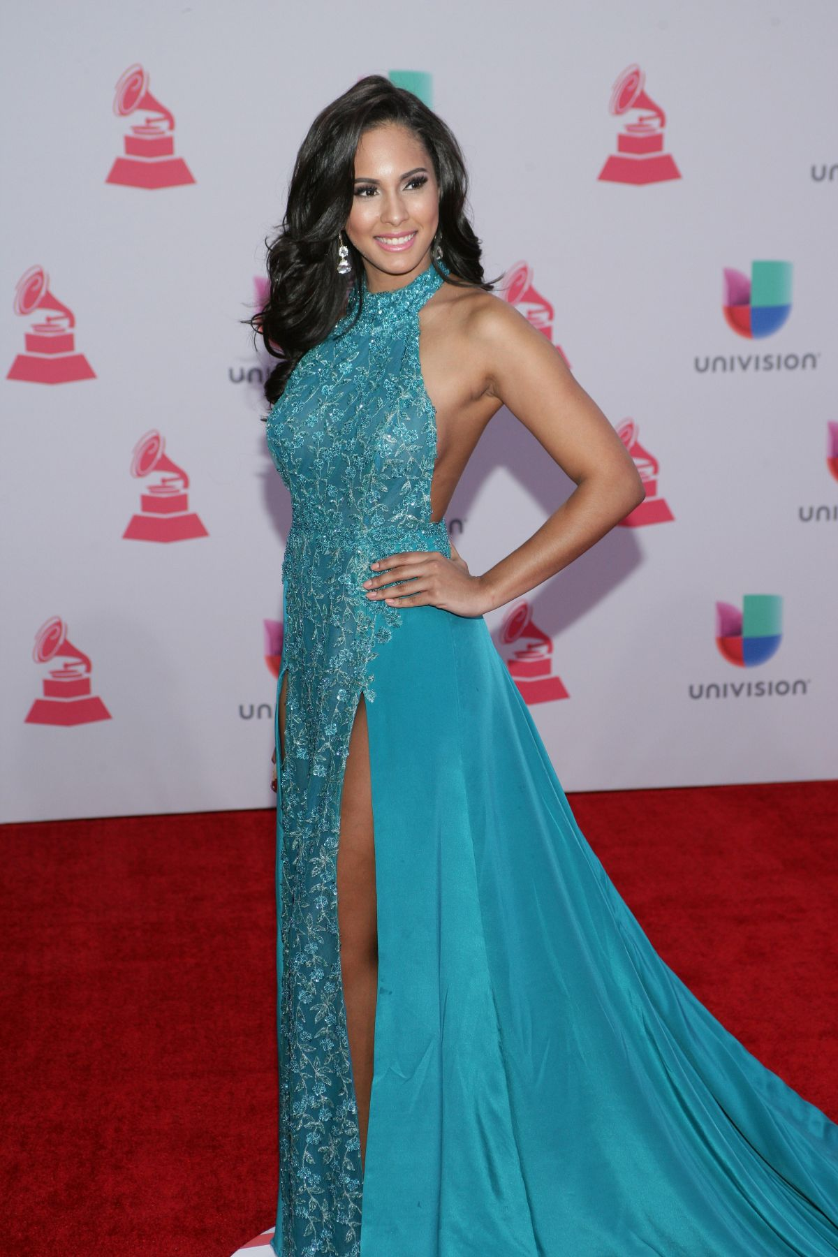 THATIANA DIAZ at 2015 Latin Grammy Awards in Las Vegas 11/18/2015