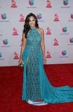 THATIANA DIAZ at 2015 Latin Grammy Awards in Las Vegas 11/18/2015