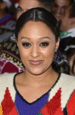 TIA MOWRY at The Night Before Premiere in Los Angeles 11/18/2015