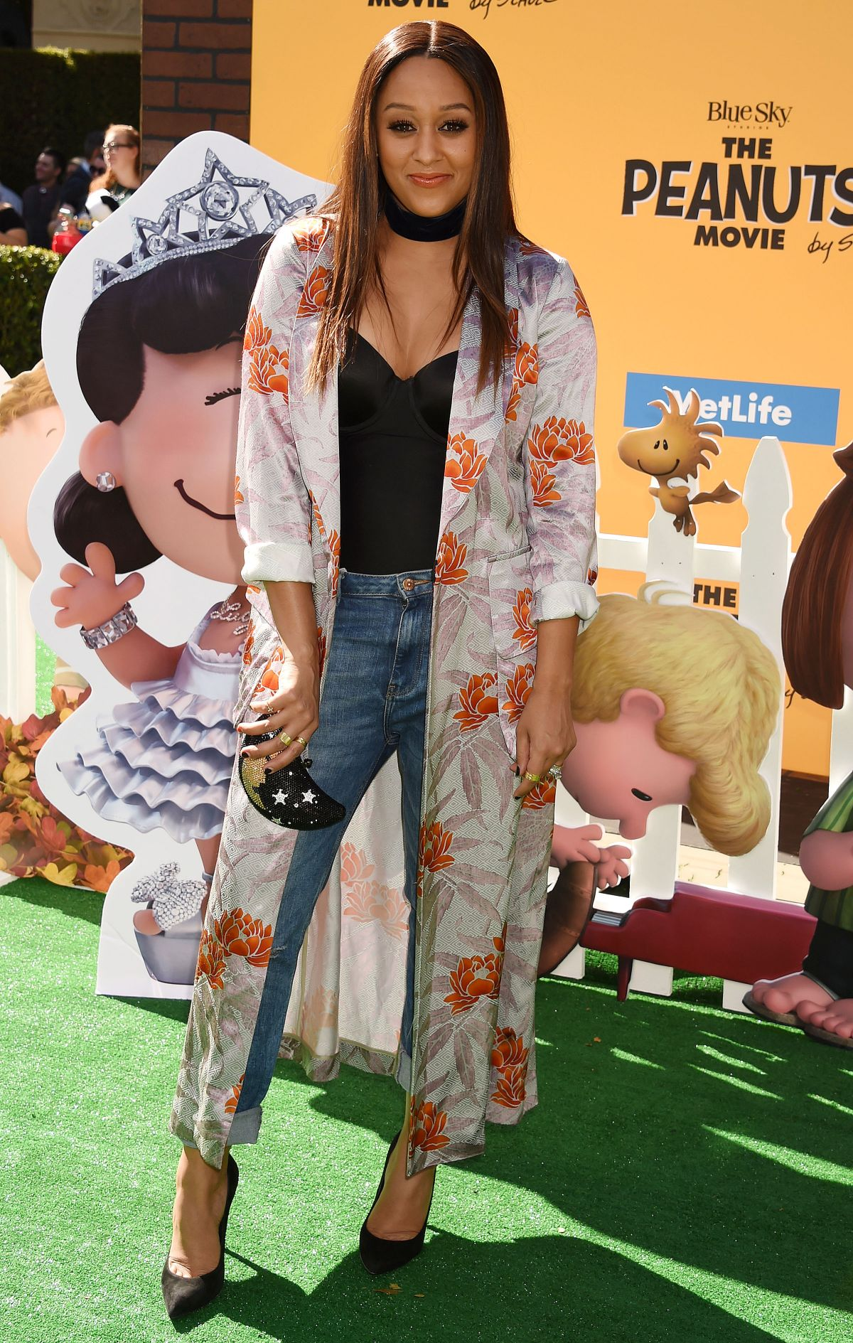 TIA MOWRY at The Peanuts Movie Premiere in Westwood 11/01/2015