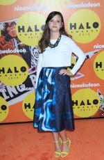 TIFFANY ALVORD at 2015 Nickelodeon Halo Awards in New York 11/14/2015