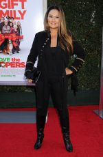 TIQA CARRERE at Love the Coopers Premiere in Los Angeles 11/12/2015