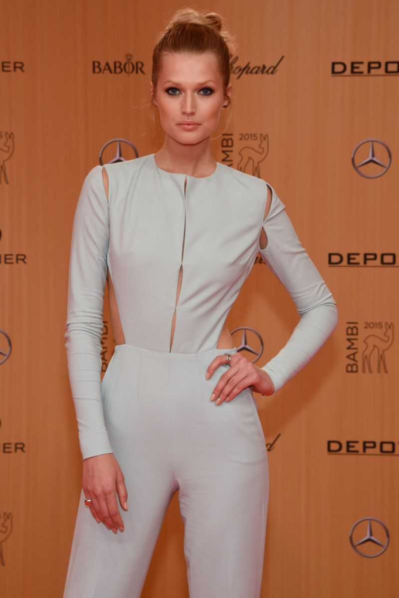 TONI GARRN at Bambi Awards 2015 in Berlin 11/12/2015