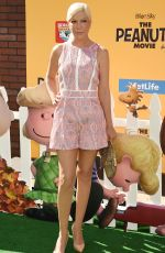 TORI SPELLING at The Peanuts Movie Premiere in Westwood 11/01/2015