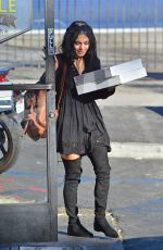 VANESSA HUDGENS Out Shopping in Los Angeles 10/31/2015