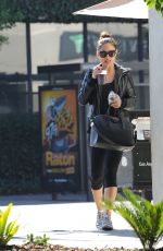 VANESSA MINNILLO in Leggings Out and About in Los Angeles 11/18/2015