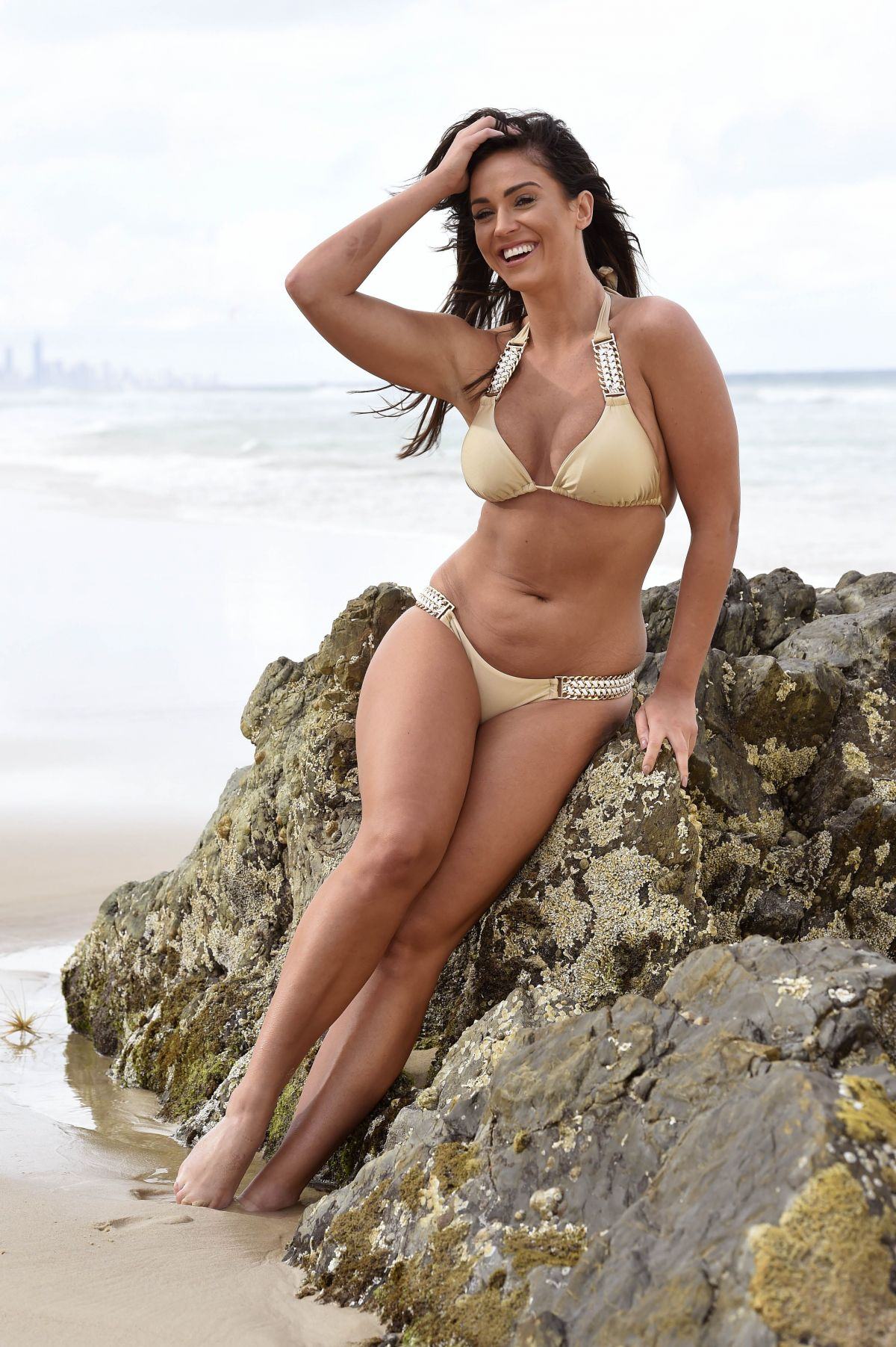 VICKY PATTISON in Bikini on the Set of a Photoshoot in Australia ...