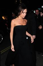 VICTORIA BECKHAM at Burberry Festive Film Premiere in London 11/03/2015