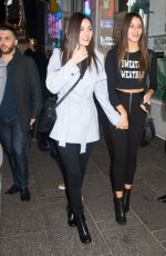 VICTORIA JUSTICE and MADISON REED Holds a Snake Out in New York 11/19/2015