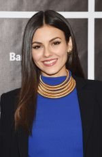VICTORIA JUSTICE at An Evening with Jerry Seinfeld and Amy Schumer in New York 11/16/2015