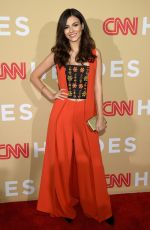 VICTORIA JUSTICE at CNN Heroes 2015 in New York 11/17/2015