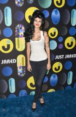 VICTORIA JUSTICE at Just Jared Halloween Party in Hollywood 10/31/2015