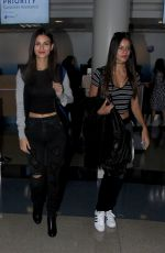 VICTORIA JUSTICE at LAX Airport in Los Angeles 11/12/2015