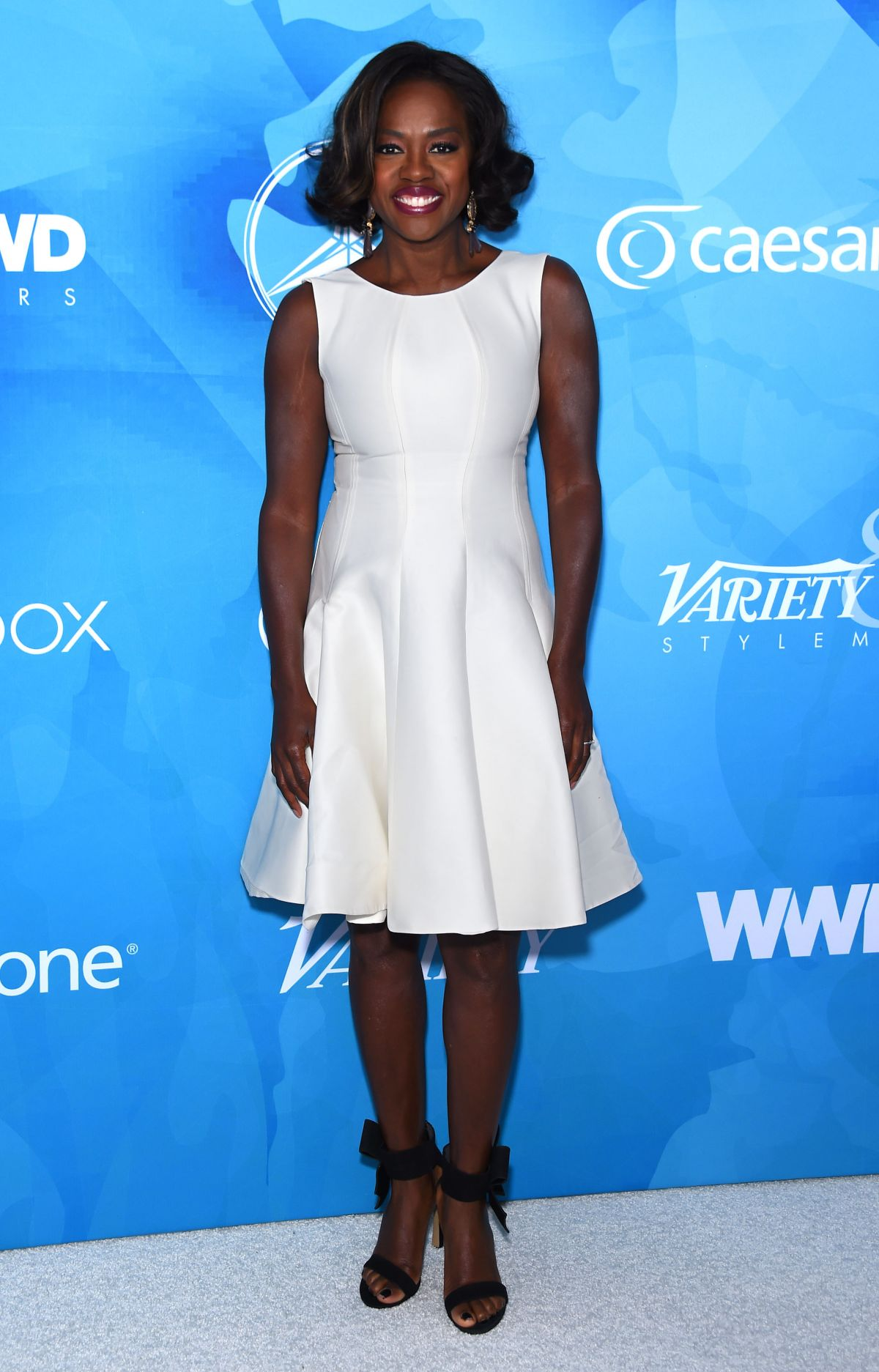 VIOLA DAVIS at WWD and Variety's Stylemakers Event in Culver City 11/19/2015
