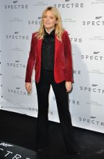 VIRGINE EFIRA at Spectre Premiere in Paris 10/29/2015