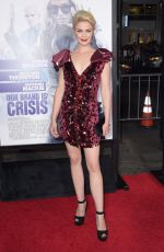 WHITNEY ABLE at Our Brand Is Crisis Premiere in Hollywood 10/26/2015