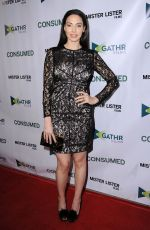 WHITNEY CUMMINGS at Consumed Los Angeles Premiere at Laemmle Music Hall in Beverly Hills 11/11/2015