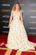 WILLOW SHIELDS at The Hunger Games: Mockingjay, Part 2 Premiere in Los Angeles 11/16/2015