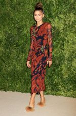 ZENDAYA COLEMAN at 12th Annual CFDA/Vogue Fashion Fund Awards in New York 11/02/2015