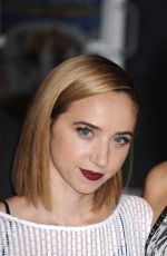 ZOE KAZAN at Our Brand Is Crisis Premiere in Hollywood 10/26/2015