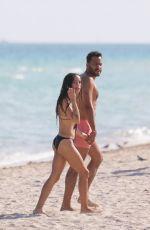 ZOE KRAVITZ in Bikini at a Beach in Miami  11/12/2015