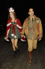 ZOEY DEUTCH at Just Jared Halloween Party in Hollywood 10/31/2015