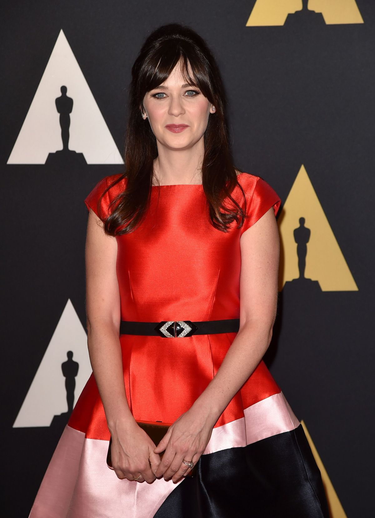 ZOOEY DESCHANEL at 7th Annual Governors Awards in Hollywood 11/14/2015