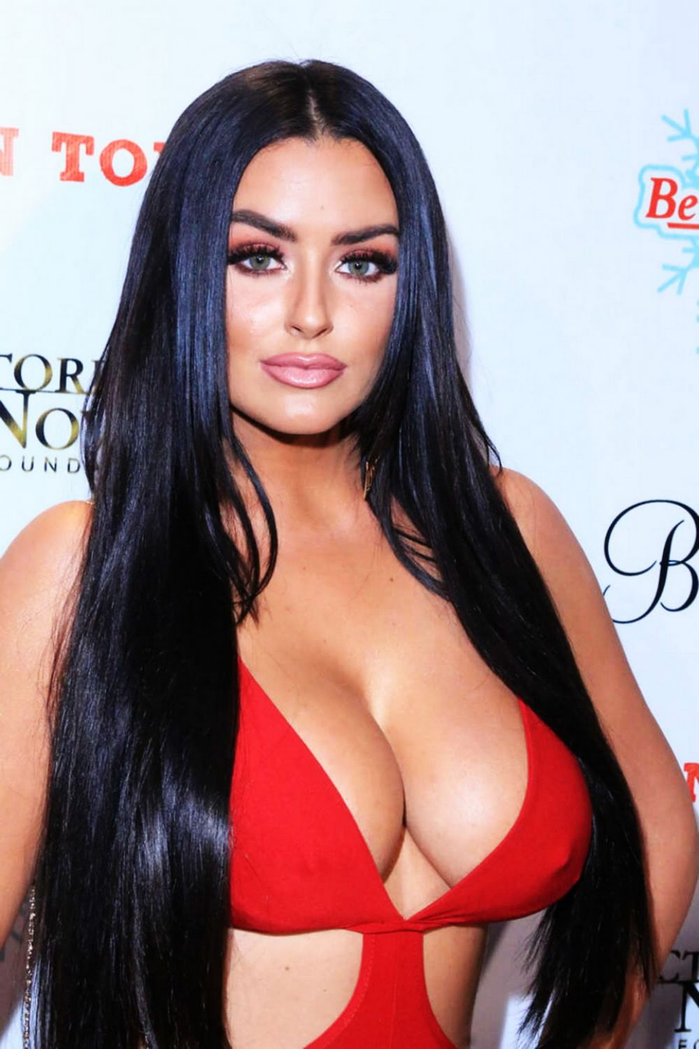 ABIGAIL RATCHFORD at Babes in Toyland Charity Holiday Party in Hollywood 12/15/2015