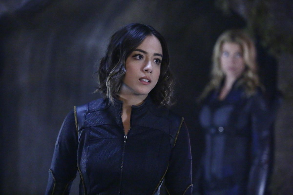 ADRIANNE PALICKI and CHLOE BENNET - Agents of S.H.I.E.L.D.S 3 Promos