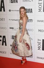 AGYNESS DEYN at Moet British Independent Film Awards 2015 in London 12/06/2015