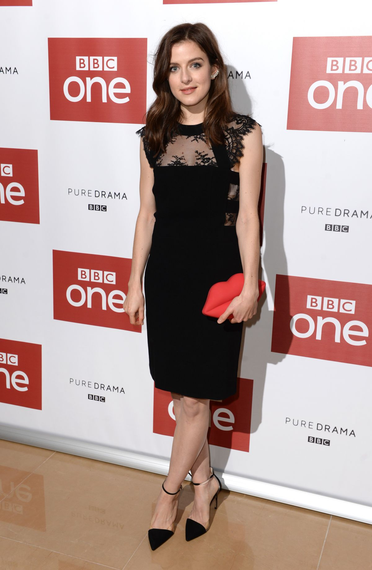 AISLING LOFTUS at War and Peace Premiere in London 12/14/2015