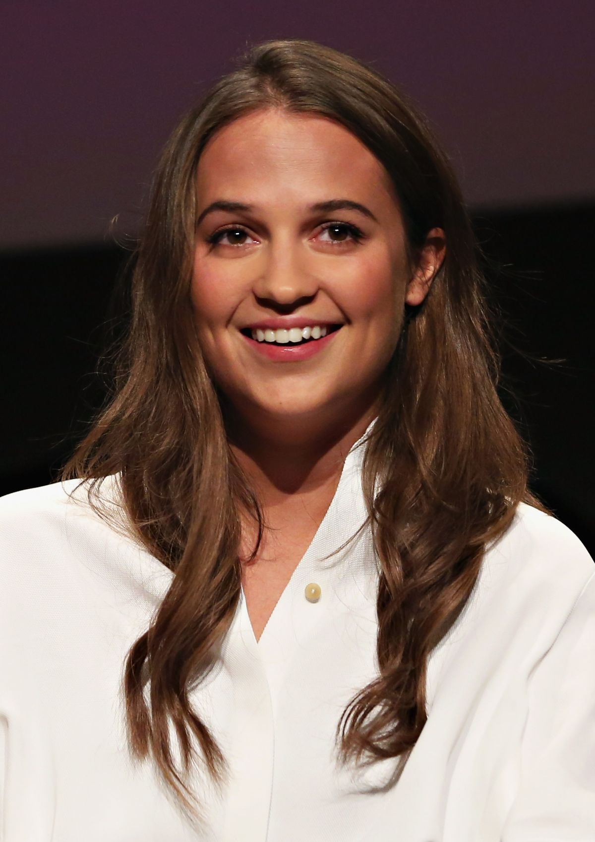 ALICIA VIKANDER at sag-aftra Screening of The Danish Girl in New York 12/15/2015