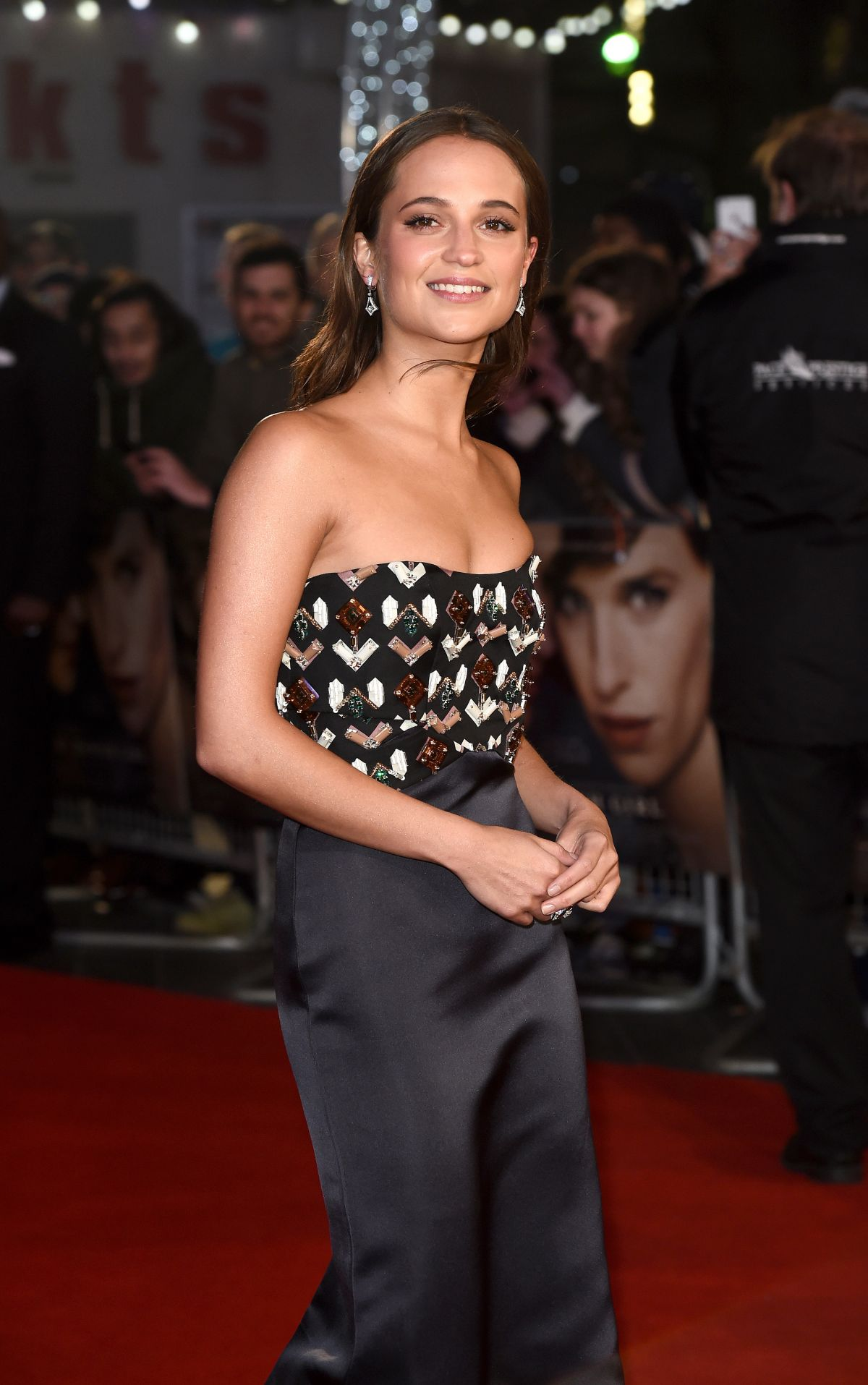 ALICIA VIKANDER at The Danish Girl Premiere in London 12/08/2015
