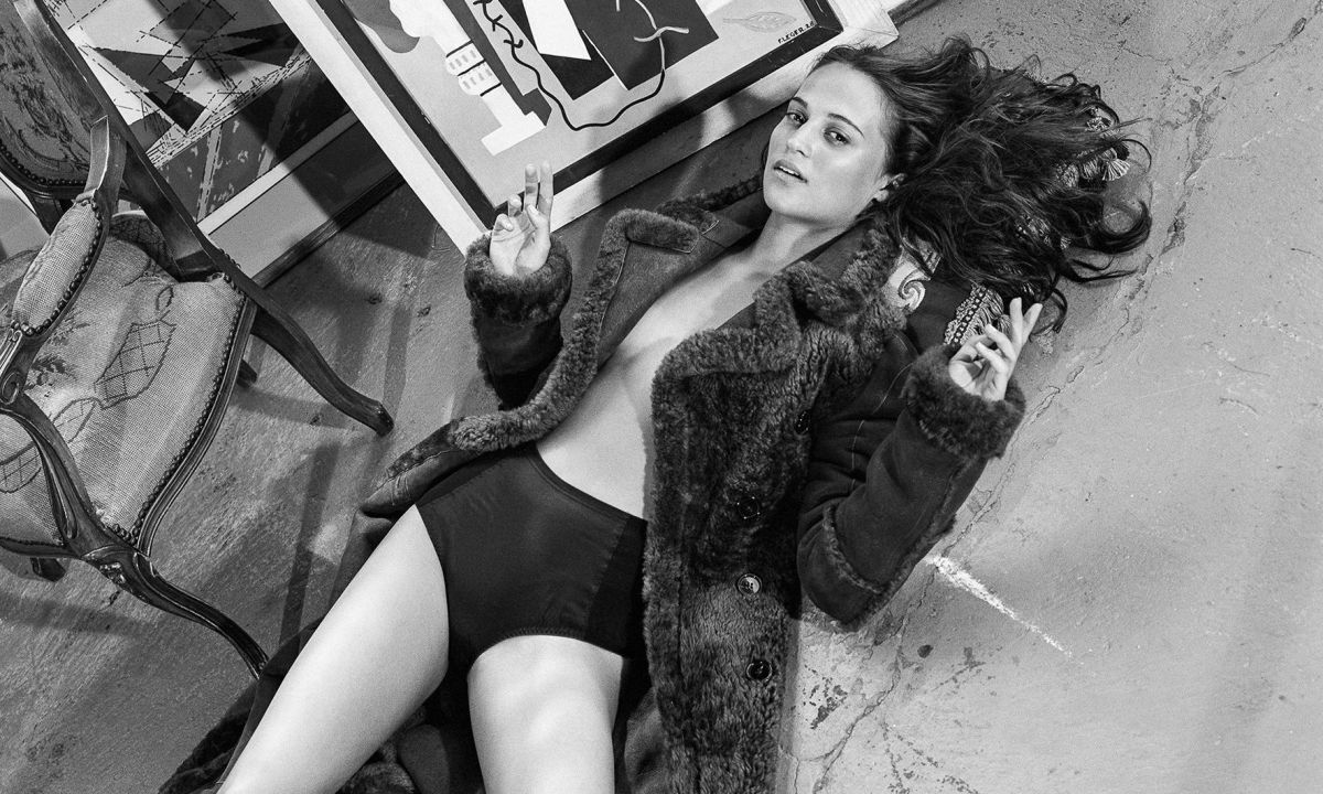 ALICIA VIKANDER by Bruce Weber for Dujour Magazine, Winter 2015 Issue