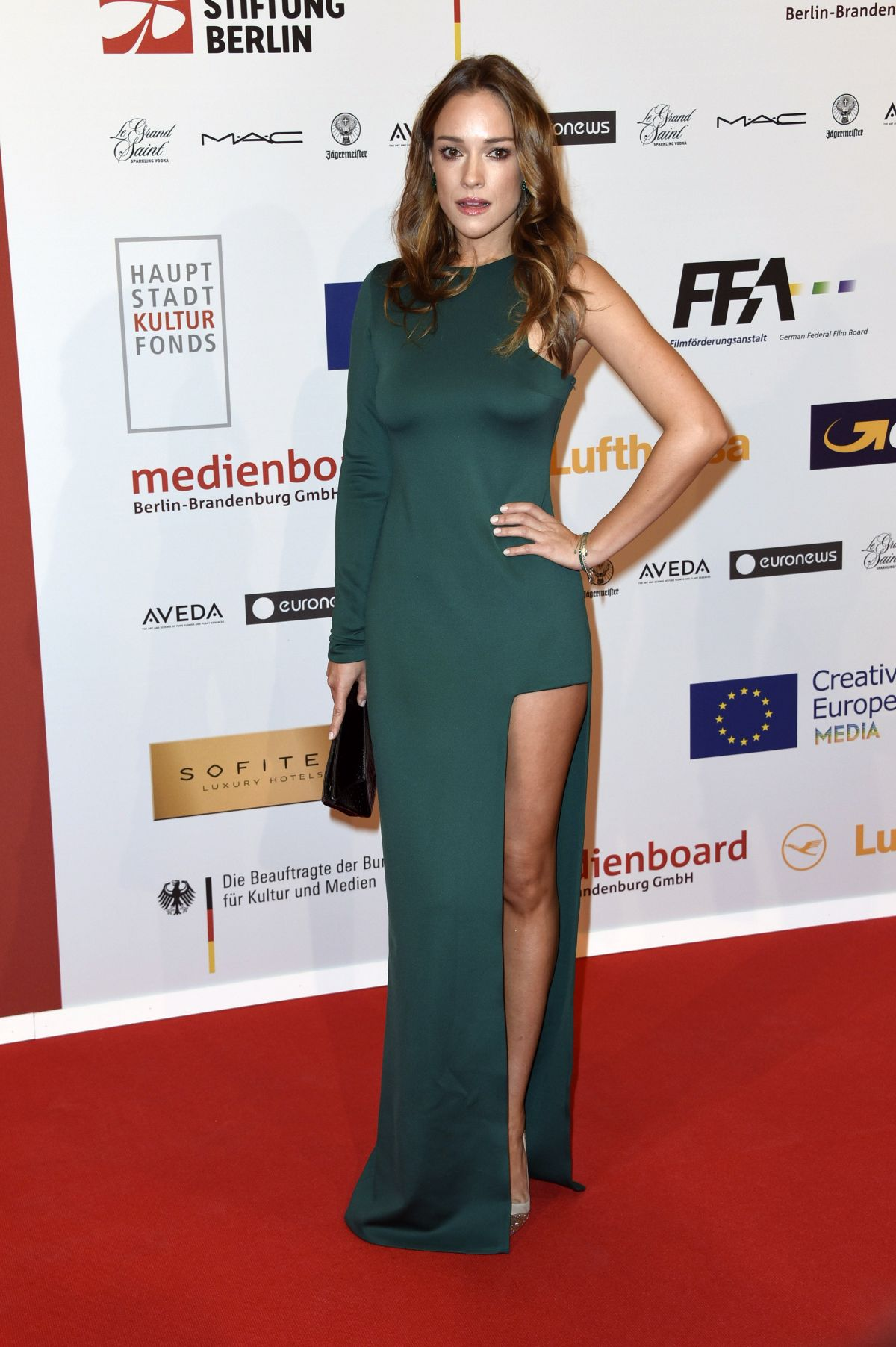 ALICJA BACHLEDA-CURUS at 28th Annual European Film Awards in Berlin 12/12/2015