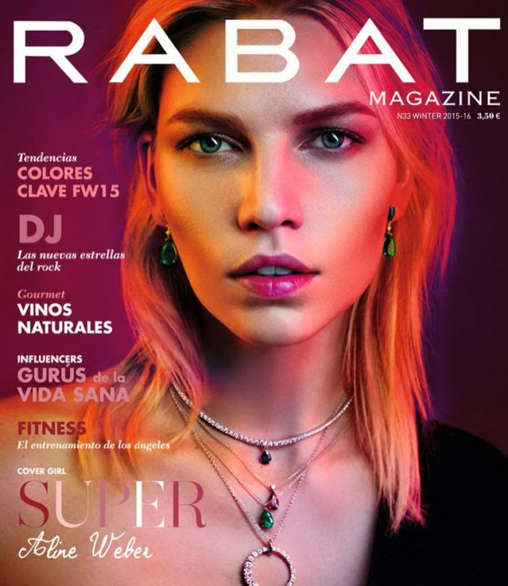ALINE WEBER in Rabat Magazine, Winter 2015