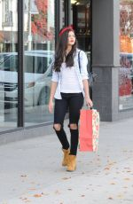 AMBER MONTANA Out Shopping in Studio City 12/16/2015