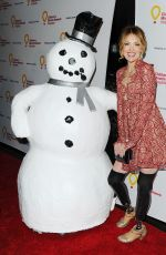 AMY PURDY at Children's Miracle Network Hospital's Winter Wonterland Ball in Hollywood 12/12/2015