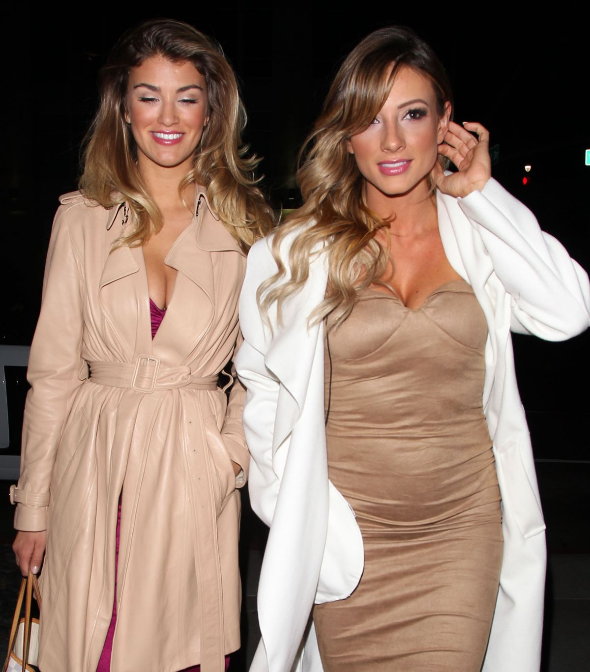 AMY WILLERTON and PAIGE HATHAWAY at Caulfield