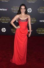 ANA DE LA REGUERA at Star Wars: Episode VII – The Force Awakens Premiere in Hollywood 12/14/2015
