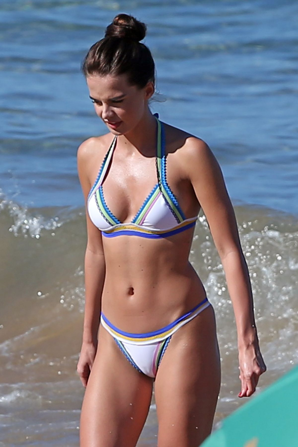 ANNA ANDRES in Bikini Body at a Beach in Maui 12/21/2015