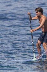 ANNA ANDRES in Bikini Paddle-boarding in Hawaii 12/28/2015