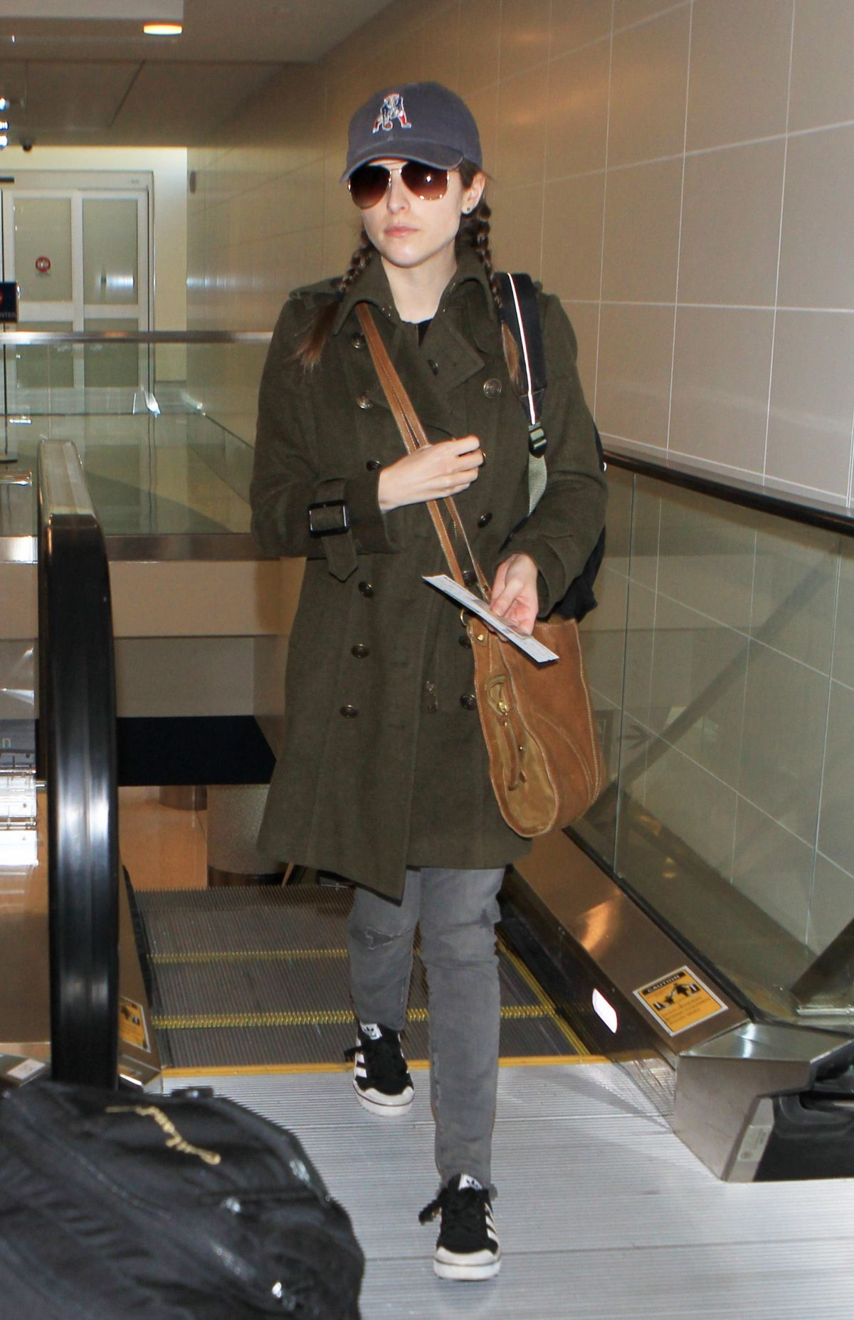 ANNA KENDRICK at Los Angeles International Airport 12/08/2015