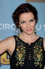 ANNIE WERSCHING at Cirque Du Soleil's Kurious-Cabinet of Curiosites Opening Night in Los Angeles 12/09/201