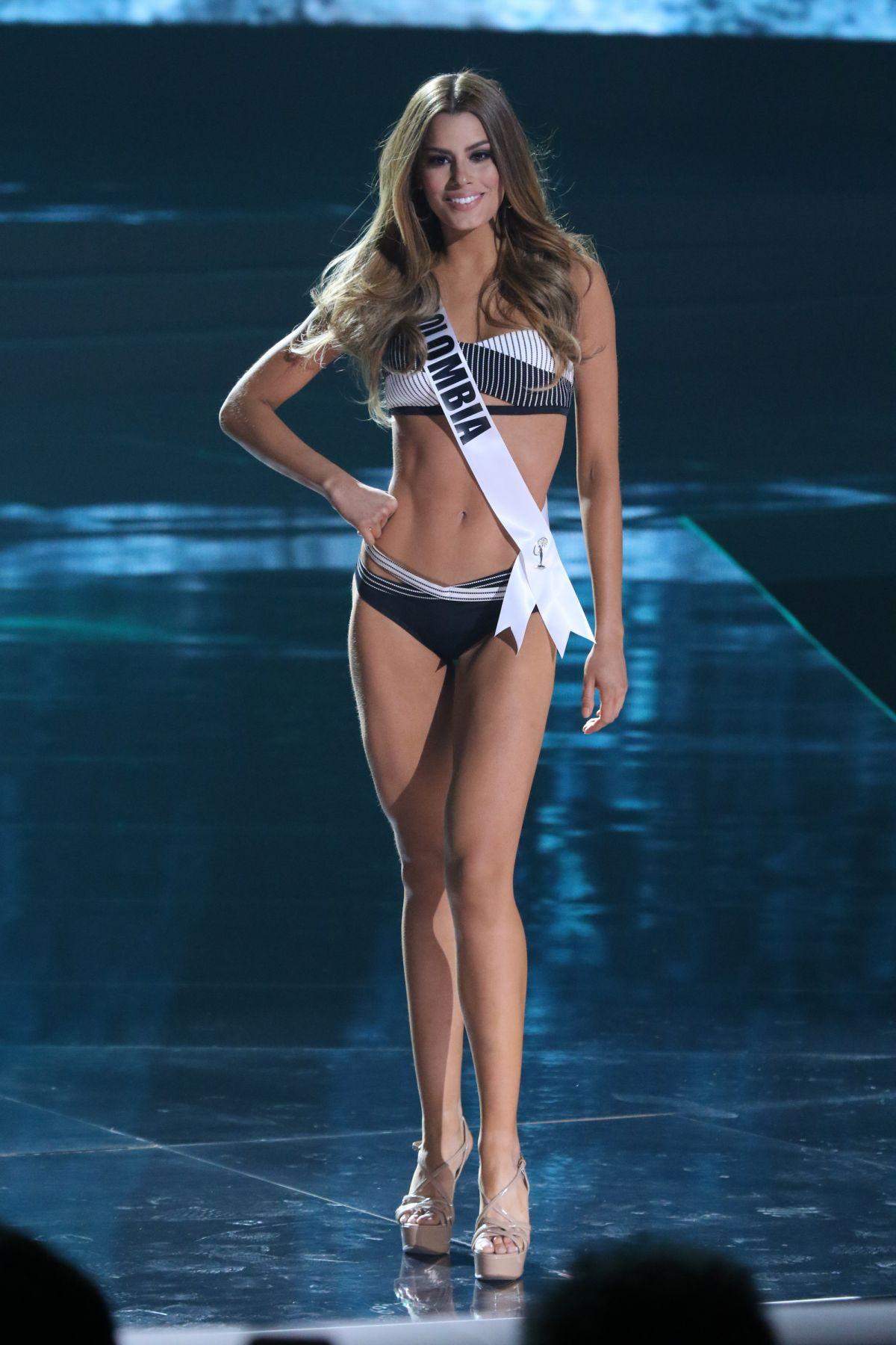 ARIADNA GUTIERREZ AREVALO - Miss Universe 2015 Preliminary Round 12/16/2015