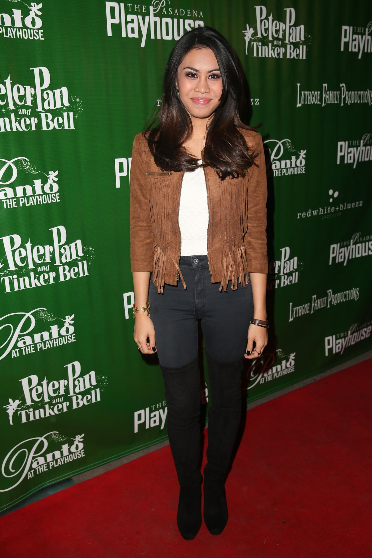 ASHLEY ARGOTA at Peter Pan and Tinker Bell – A Pirates Christmas Opening Night in Pasadena 12/09/2015