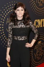 AUBREY PEEPLES at 2015 CMT Artists of the Year Awards in Nashville 12/02/2015